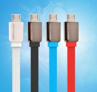Remax Noodle Shape 1M Micro USB Sync Data Charging Cable for Samsung Sony LG HTC Huawei