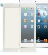 High Quality Front Glass Lens For Ipad Air 2-White