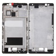 For Huawei Mate 8 Front Housing LCD Frame Bezel Plate(Black)