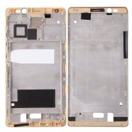 For Huawei Mate 8 Front Housing LCD Frame Bezel Plate(Gold)
