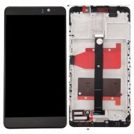 LCD Screen + Touch Screen Digitizer Assembly with Bezel for Huawei Mate 9 -Black