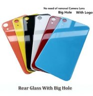 Big Camera Hole Glass Back Battery Glass for iPhone XR
