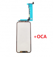 For iPhone 11 Pro Max Touch Screen Digitizer Panel with OCA Optical Clear Adhesive
