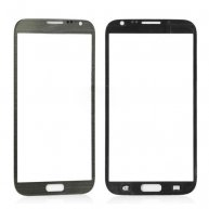 Front Screen Glass Lens for Samsung Galaxy Note 2 LTE N7105 - Grey