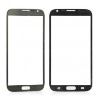 Front Screen Glass Lens for Samsung Galaxy Note ii N7100 - Grey