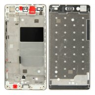 Front Housing LCD Frame Bezel Plate Replacement for Huawei P8 Lite(Gold)