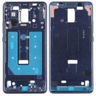 Front Housing LCD Frame Bezel Plate for Huawei Mate 10 Pro(Blue)