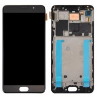 For Meizu Pro 6 Plus LCD Screen + Touch Screen Digitizer Assembly with Frame(Black)
