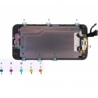 LCD screws in the metal back plate For iphone 6 (2000pcs/bag)