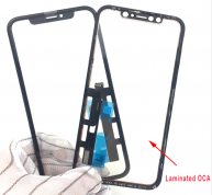 5pcs Original LCD Touch Panel Digitizer Sensor Glass With Frame + OCA Film Glue For iPhone XR