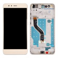 For Huawei P10 Lite LCD Screen + Touch Screen Digitizer Assembly with Frame(Gold)