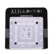 WL High-Quality A11 CPU Upper/Lower Reballing Stencil With Fixed Plate