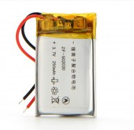 10pcs Li-Po battery 502030 3.7V 250mah MP3 MP4 toy polymer lithium battery For GPS MID Bluetooth Headset