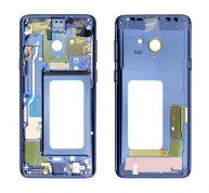 For Samsung GALAXY S9 Plus Middle Frame Housing Cover Bezel -Blue