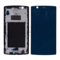 Front Housing with Bezel Frame and Adhesive Sticker Tape for LG G4 H810/ H811/ H815/ VS986/ LS991/ F500L - Black