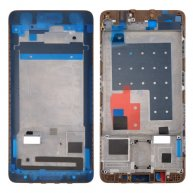 For Huawei Mate 9 Pro Front Housing LCD Frame Bezel Plate(Gold)