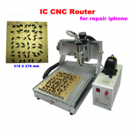 IC CNC Router Polishing Machine 3020,800W CNC Milling And EngravingMachine for iphone Chips repair