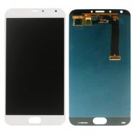 For Meizu MX5 LCD Screen + Touch Screen Digitizer Assembly(White)