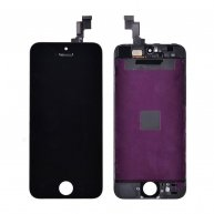 Good Quality LCD Screen Display with Touch Digitizer Assembly and Frame for iPhone SE(TianMa) - Black
