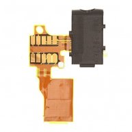 Earphone Jack Flex Cable with Camera Flash for Nokia Lumia 822