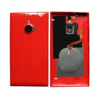 Back Housing Assembly Cover with NFC for Nokia Lumia 1520 -Red