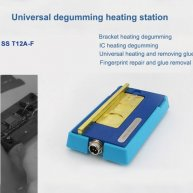 SS-T12A-F Middle Frame Desoldering Heating Station for IPhone Repair LCD Frame Heating groove