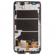 For Motorola Droid Ultra XT1080 LCD Screen and Digitizer Assembly with Front Housing - Black