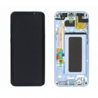 LCD Screen Assembly Screen Replacement With Frame for Samsung Galaxy S8 Plus Blue Or
