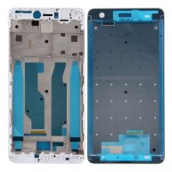 For Xiaomi Redmi Note 4X Front Housing LCD Frame Bezel(White)