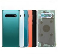 Battery Back Cover with Camera Lens For Samsung Galaxy S10