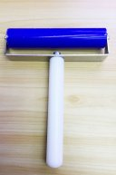 100mm Soft Silicone Roller for iPad Samsung Tablets Pushing Screen Protector Film-Blue