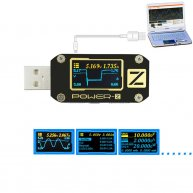 POWER Z USB PD Tester Voltage Current Type-C Meter KM001