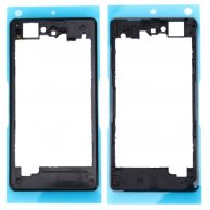 LCD Screen Housing Frame for Sony Xperia Z1 Compact / D5503(Black)