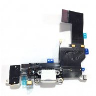 For iPhone 5S Dock Connector Charging Port Flex Cable Replacement - White(Good Quality)