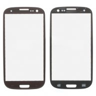 Brown for Sprint Samsung Galaxy S3 SPH-L710 Outer Glass Screen Lens Cover