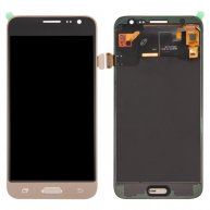 For Samsung Galaxy J3 (2016)LCD Screen + Touch Screen Digitizer Assembly(Gold)