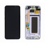 LCD Screen Assembly Screen Replacement With Frame for Samsung Galaxy S8 Plus Purple Or