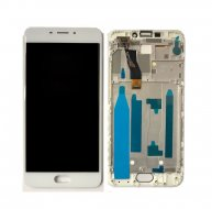 For Meizu M5 Note / Meilan Note 5 LCD Screen + Touch Screen Digitizer Assembly with Frame(White)
