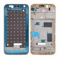 For Huawei G8 Front Housing LCD Frame Bezel Plate(Gold)
