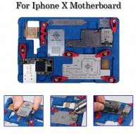 Explosion-proof Cooling Tin Multi-functional Platform PCB Holder for iPhone X Motherboard A11 IC Chip Jig Fixture Repair Tools