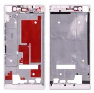 Front Housing Screen Frame Bezel Replacement for Huawei Ascend P7(White)