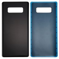 For Samsung Galaxy Note 8 Battery Back Cover with Adhesive(Black)