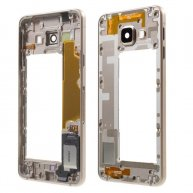 Middle Housing Frame Samsung Galaxy A3 SM-A310F (2016) Small Parts-Gold