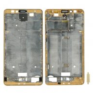 Front Housing LCD Frame Bezel Plate for Huawei Ascend Mate 7(Gold)