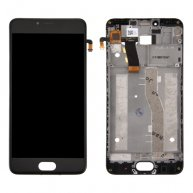 For Meizu M5 / Meilan 5 LCD Screen + Touch Screen Digitizer Assembly with Frame(Black)