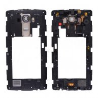 Backplate Rear Housing with Camera Lens, Power & Volume Buttons and Buzzer Ringer for LG G4 H815/ H810/ H811/ VS986/ LS991/ F500