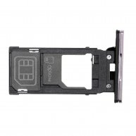 For Sony Xperia XZ2 SIM Card Tray - Purple