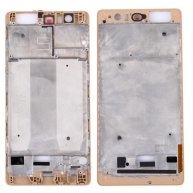For Huawei P9 Plus Front Housing LCD Frame Bezel Plate(Gold)