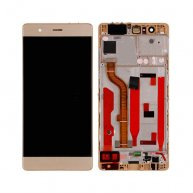 LCD Screen with Touch Screen Assembly Replacement With Frame for Huawei P9 Gold