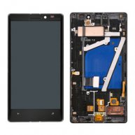 For Nokia Lumia 930 LCD Display Touch Glass Digitizer Panel Screen Assembly with frame